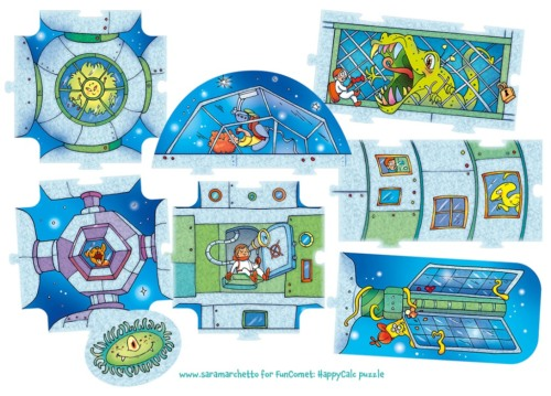 Puzzle design and illustrations